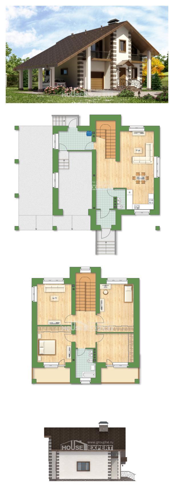 Проект дома 150-003-Л   House Expert