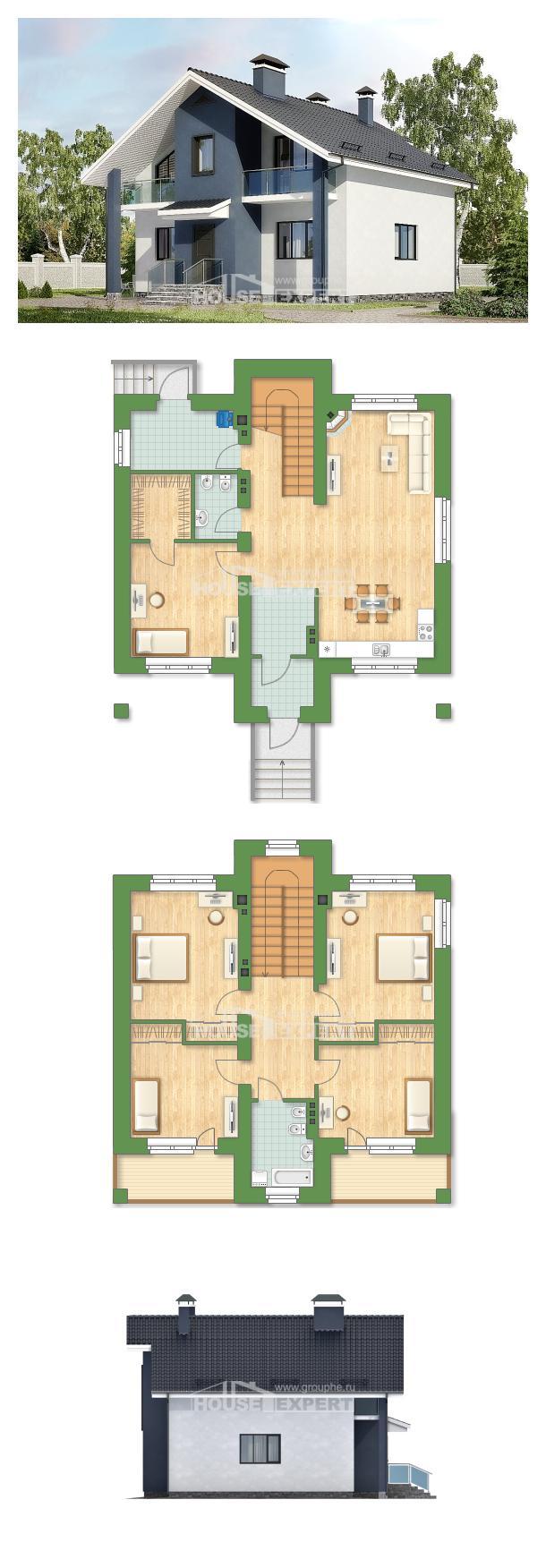 Projekt domu 150-005-R | House Expert