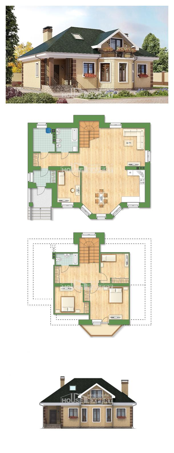 Projekt domu 150-013-L | House Expert