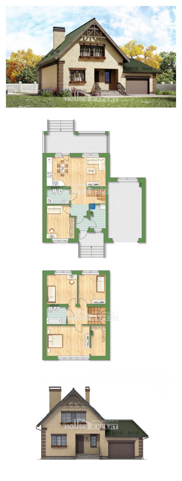 Proyecto de casa 160-007-R | House Expert