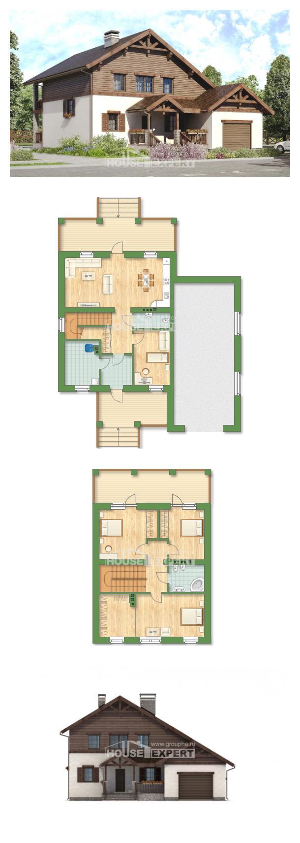 Проект дома 200-003-П | House Expert