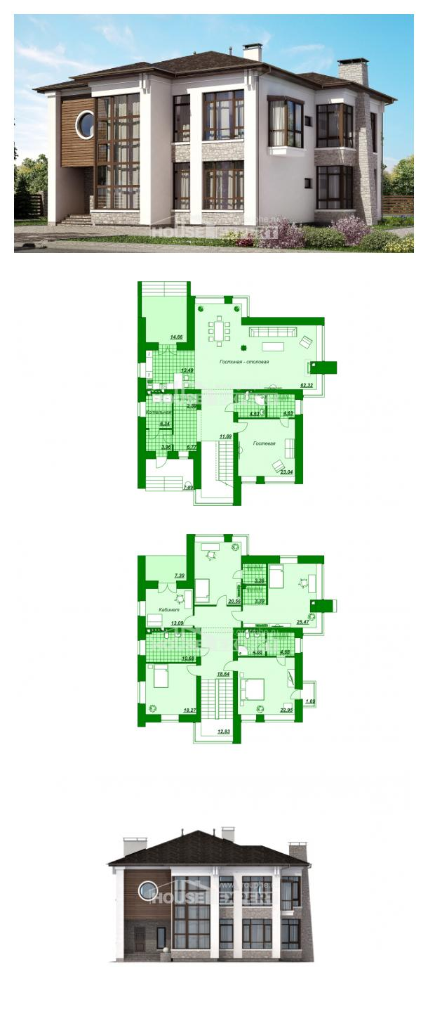 Projekt domu 300-005-R   House Expert