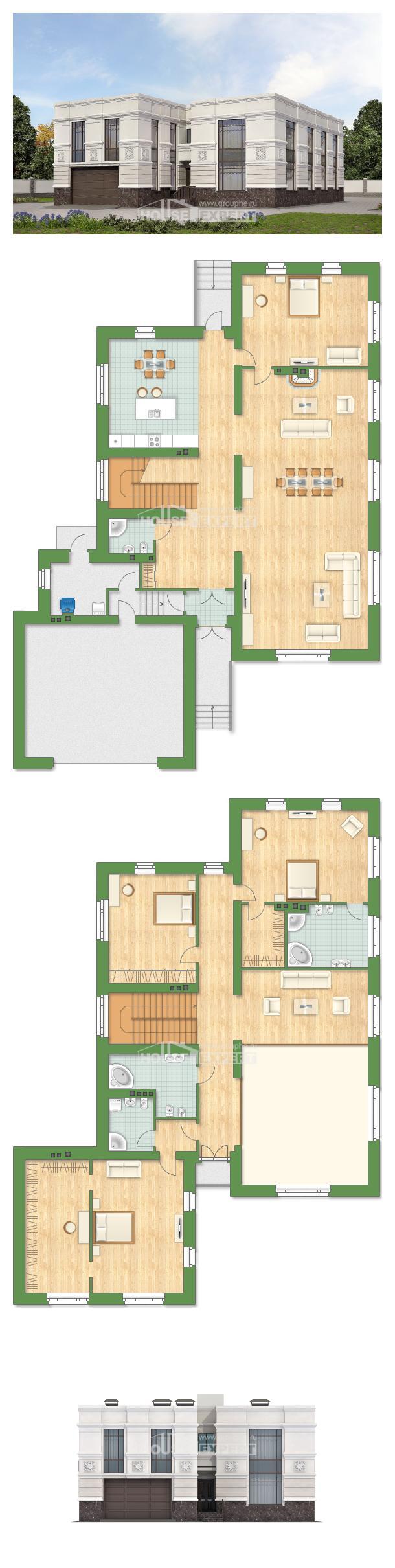 Ev villa projesi 400-005-L | House Expert