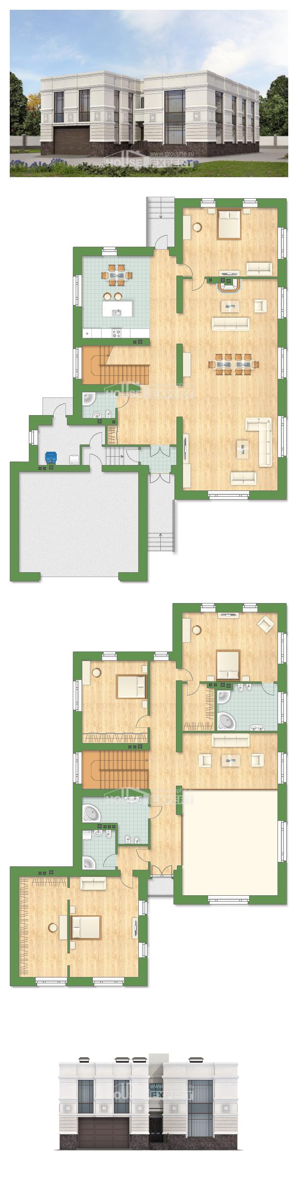 خطة البيت 400-005-L | House Expert