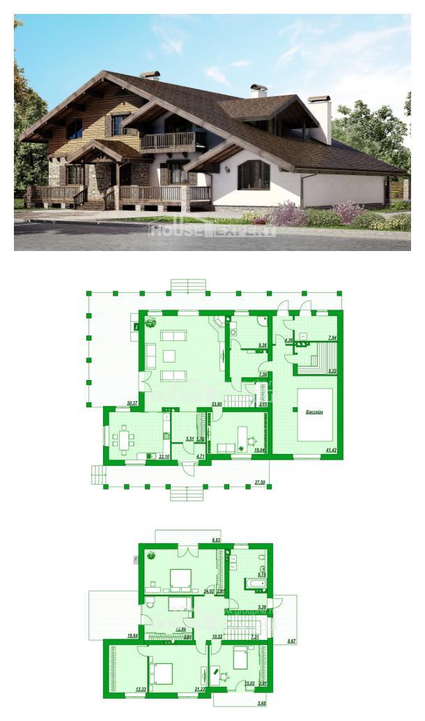 Projekt domu 320-002-R | House Expert