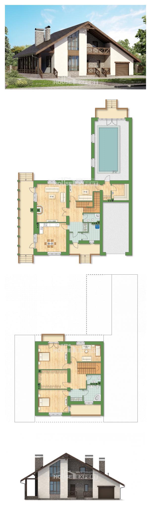 Projekt domu 265-001-R   House Expert