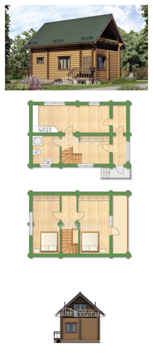 Projekt domu 080-003-R   House Expert