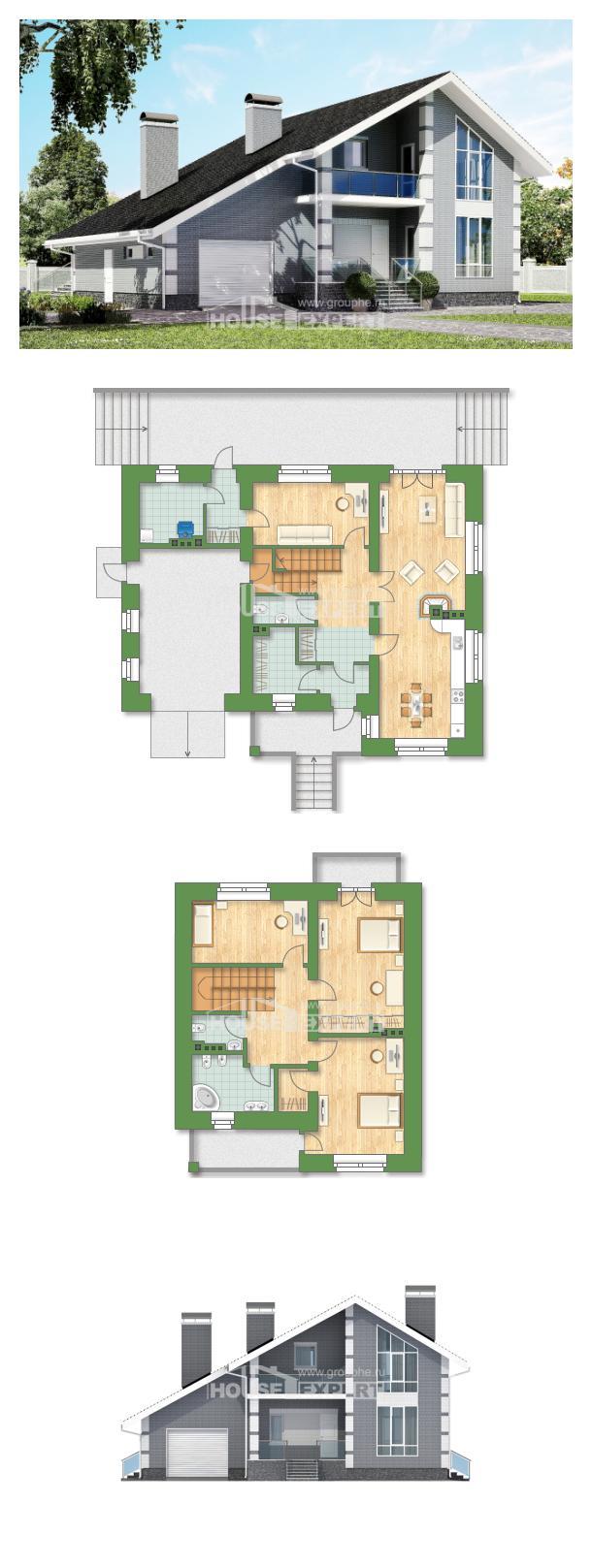 خطة البيت 190-006-L | House Expert