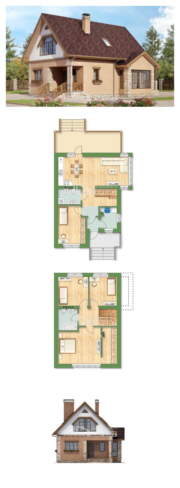 Projekt domu 140-002-R   House Expert