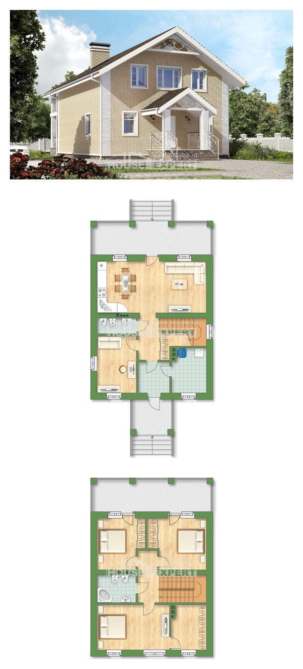 Projekt domu 150-007-L   House Expert