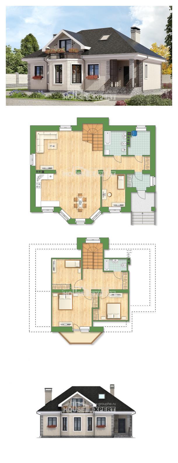Projekt domu 150-013-R | House Expert