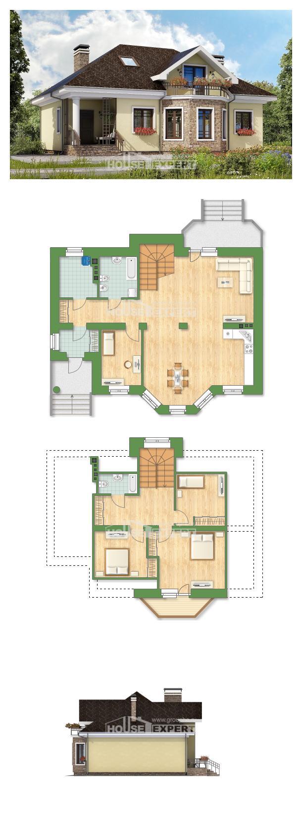 Projekt domu 150-008-L | House Expert
