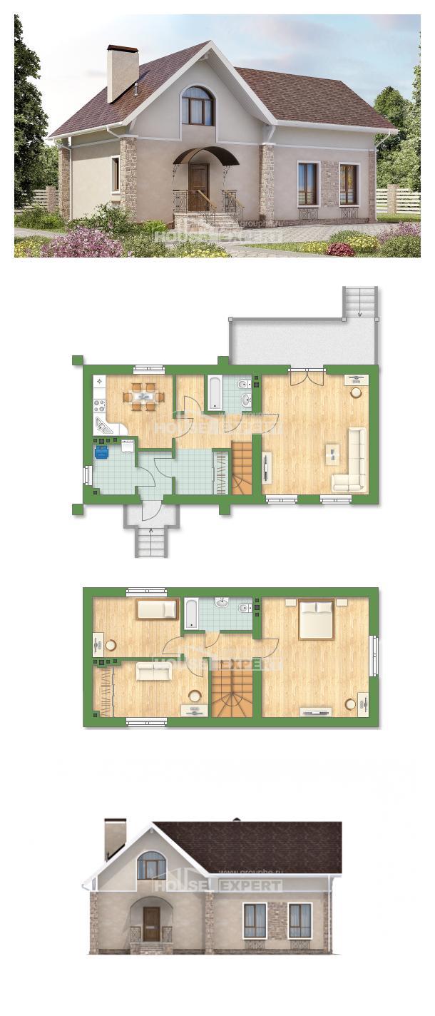 Проект дома 150-012-Л | House Expert