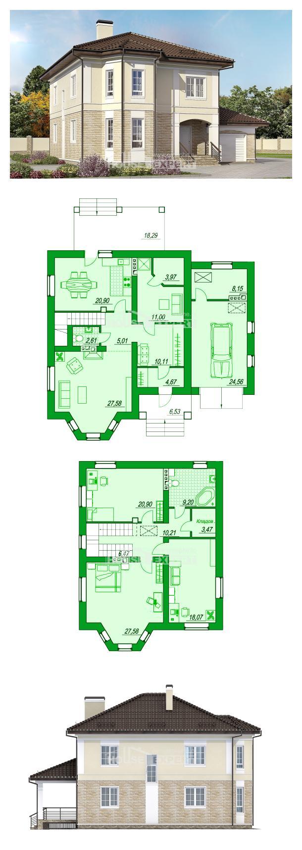 Projekt domu 220-007-R | House Expert