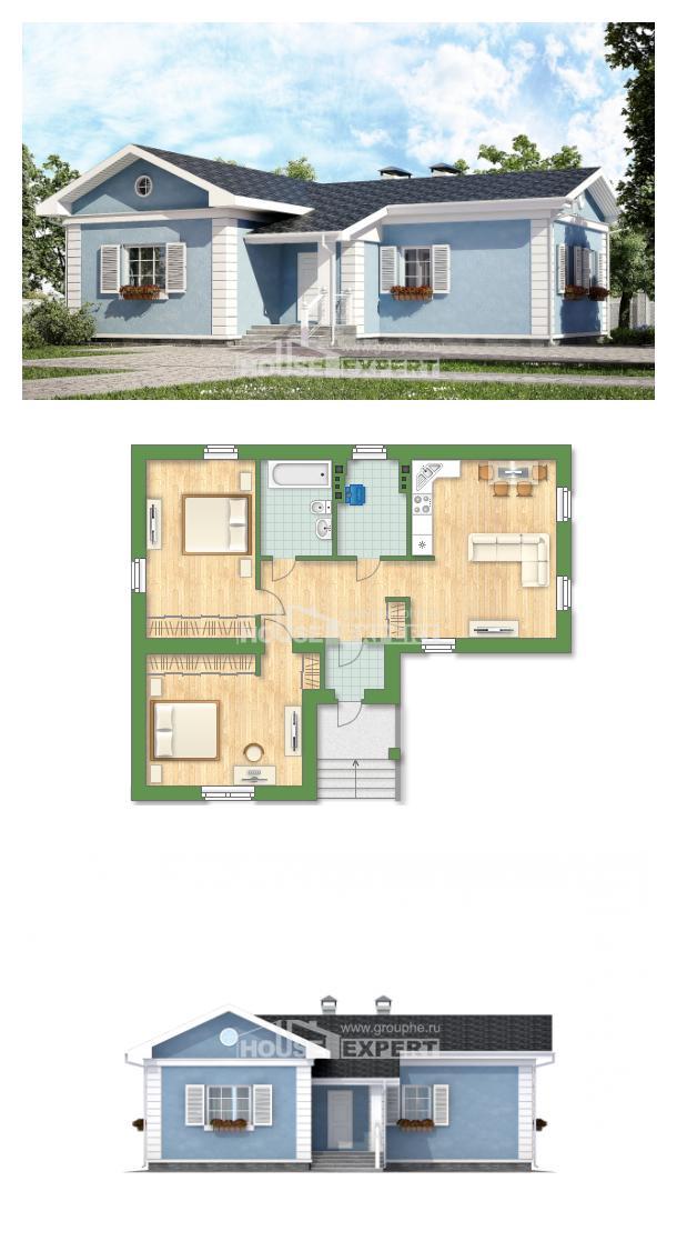 Проект на къща 090-004-R   House Expert