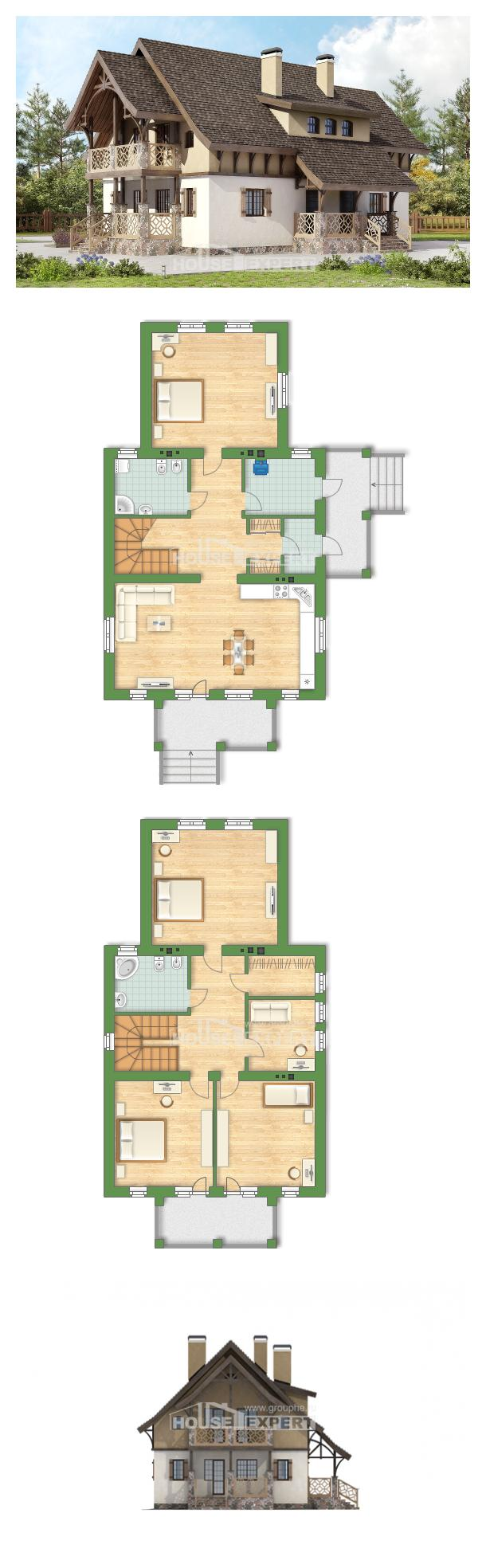 Projekt domu 180-014-L   House Expert