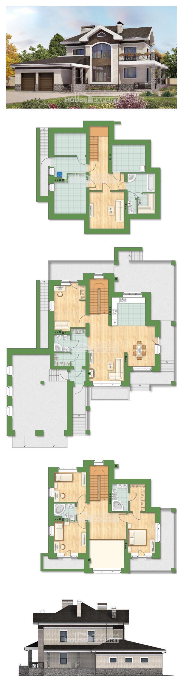 Ev villa projesi 365-001-L | House Expert