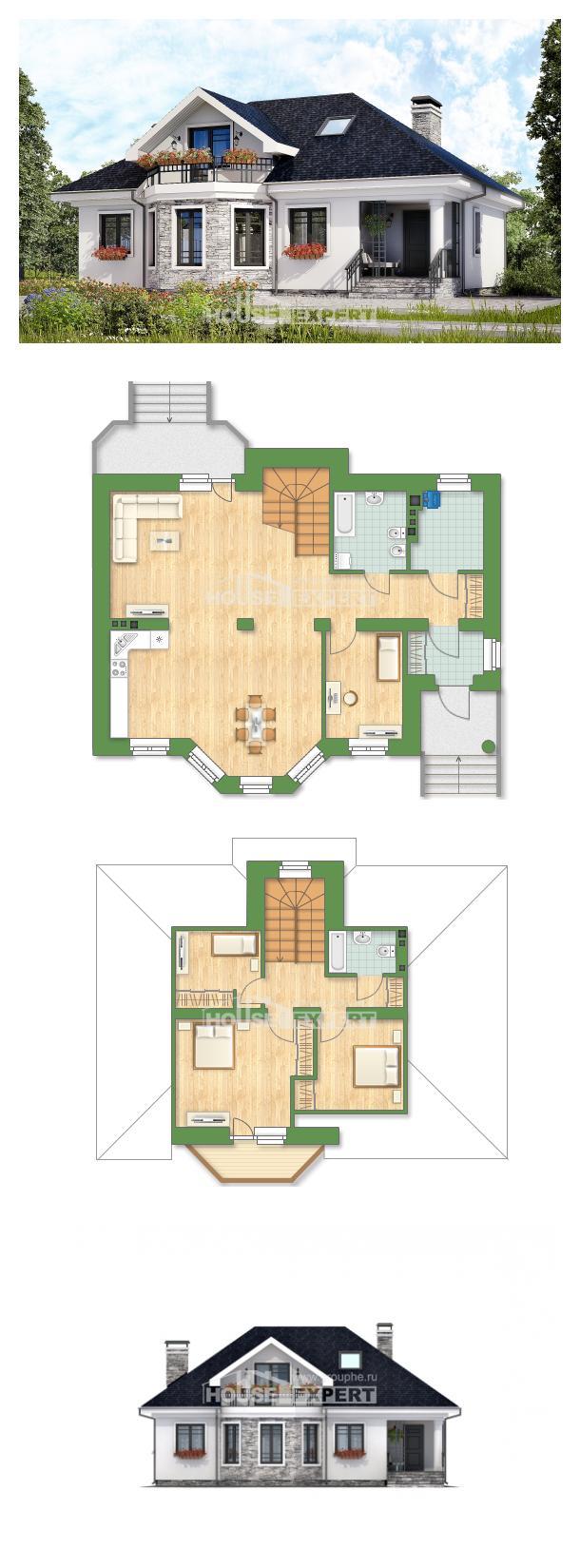 Projekt domu 150-008-R | House Expert