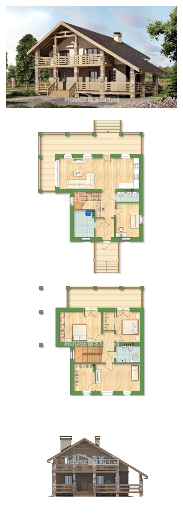 Projekt domu 160-010-L | House Expert