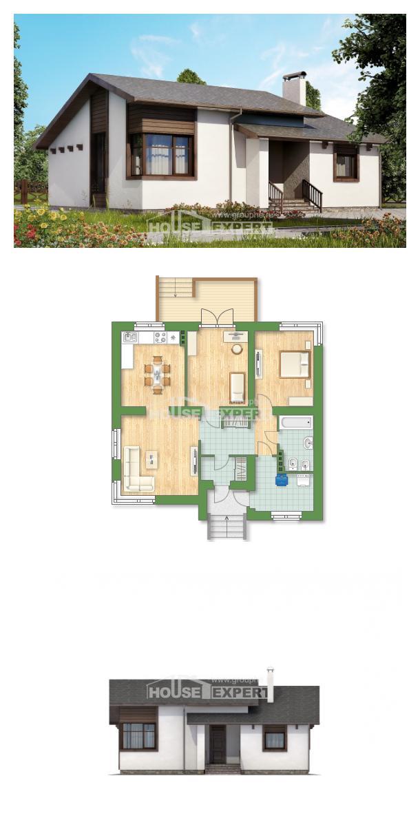 Projekt domu 110-003-R   House Expert