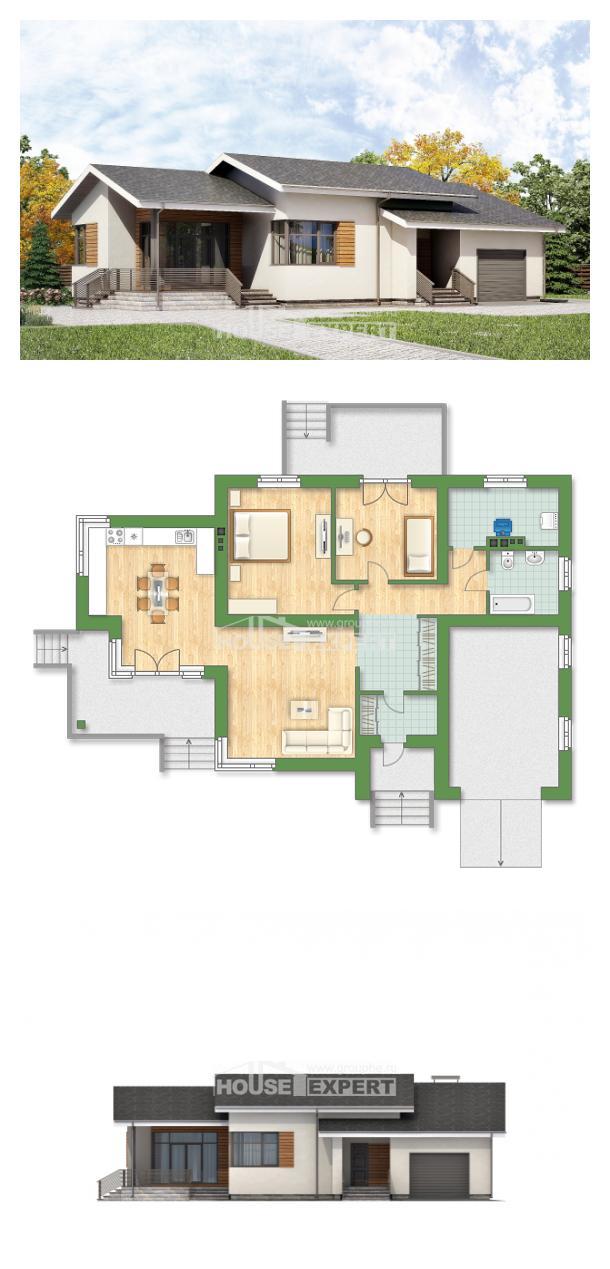Projekt domu 135-002-R   House Expert