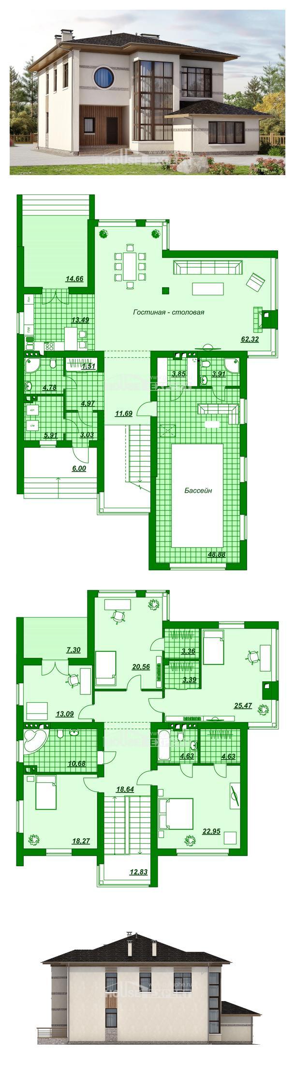 Projekt domu 345-001-R | House Expert