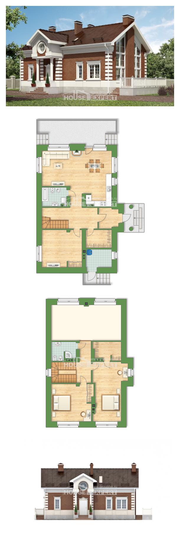 Projekt domu 160-009-R   House Expert