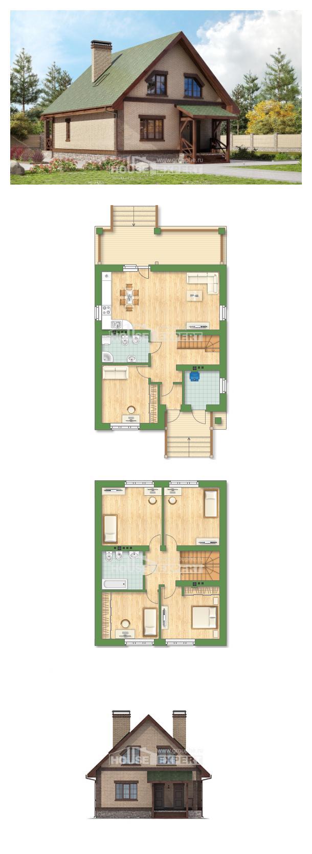 Projekt domu 160-011-R | House Expert