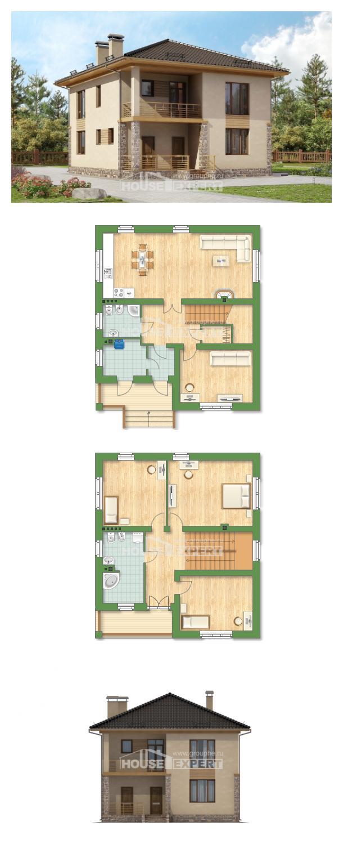 Проект дома 170-005-Л   House Expert