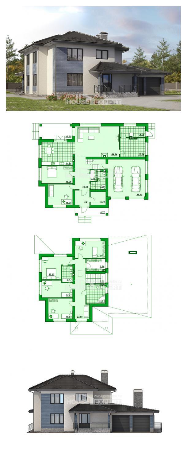 Projekt domu 340-005-R | House Expert