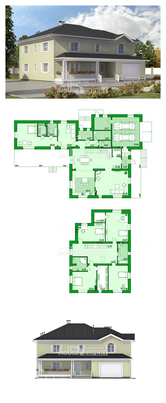 Projekt domu 410-002-L | House Expert