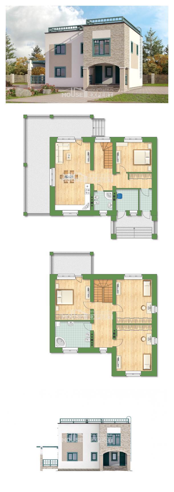 Projekt domu 150-010-R   House Expert
