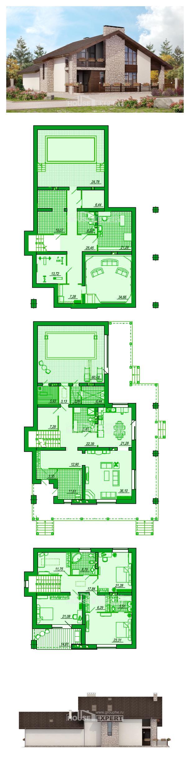 Projekt domu 480-001-L | House Expert