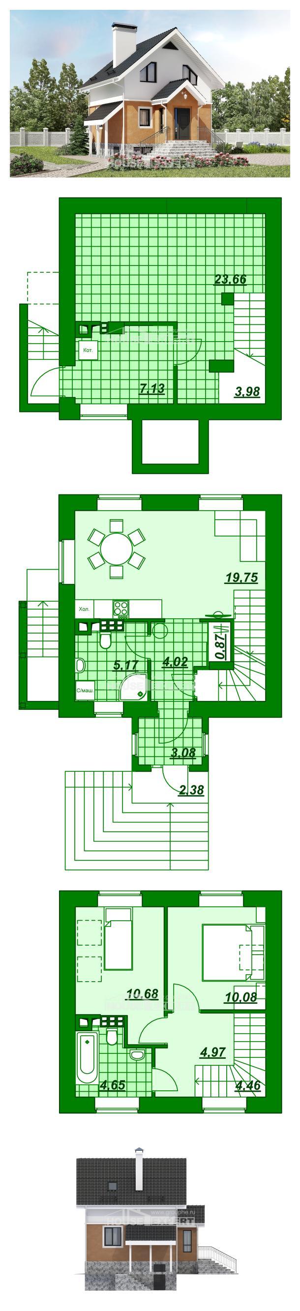Projekt domu 100-005-L | House Expert
