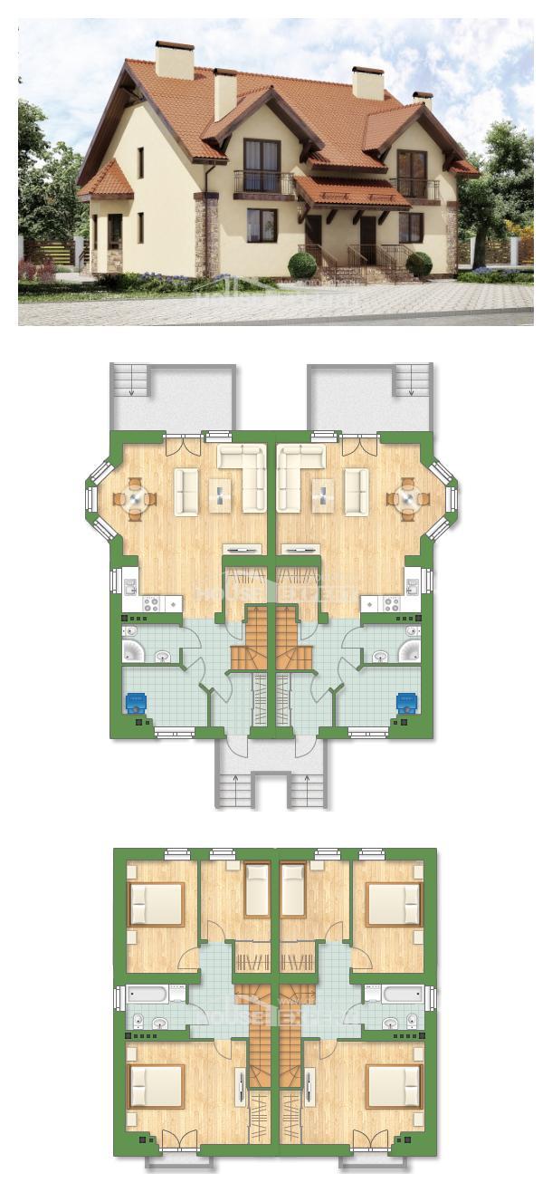 Проект дома 240-001-П   House Expert
