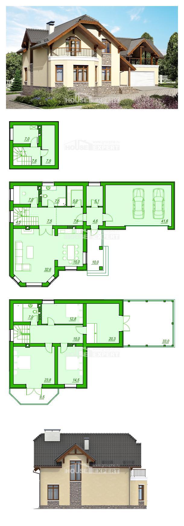 Проект дома 255-003-П | House Expert