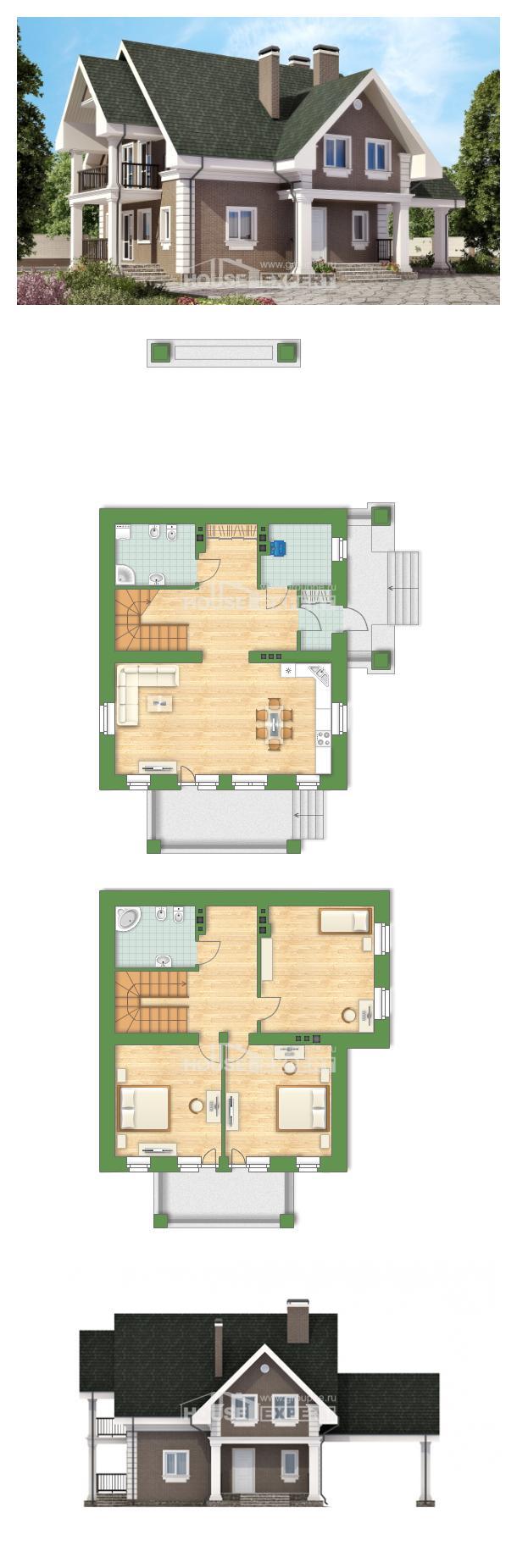Projekt domu 140-003-R   House Expert