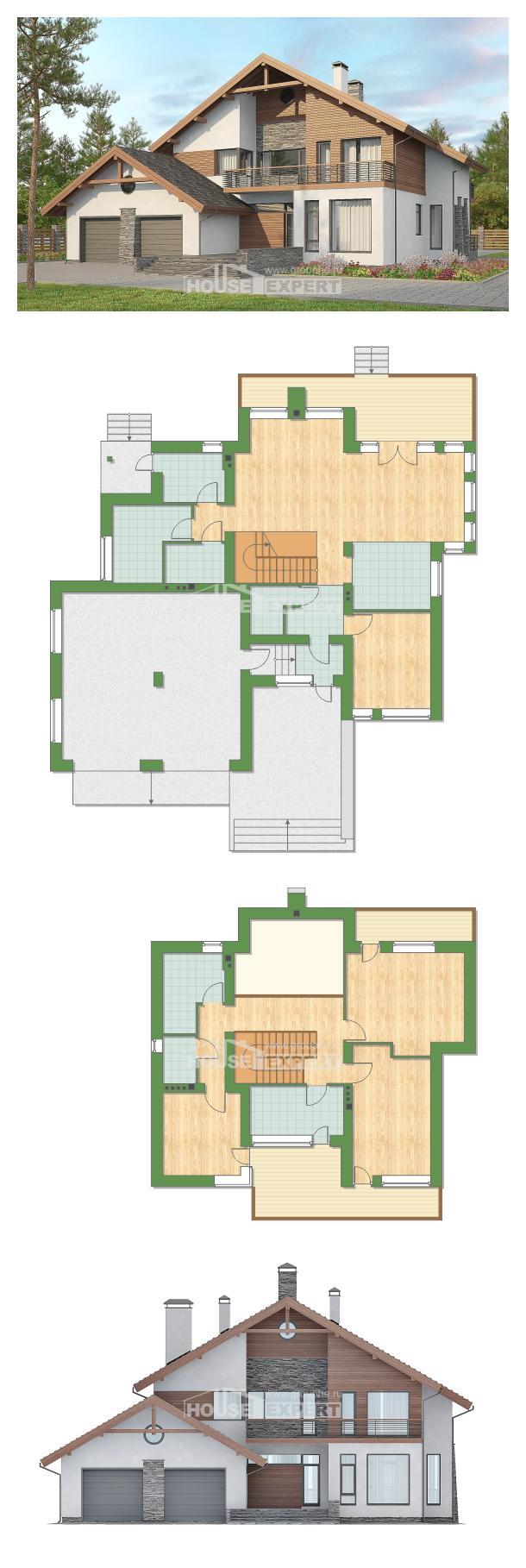خطة البيت 270-003-L | House Expert