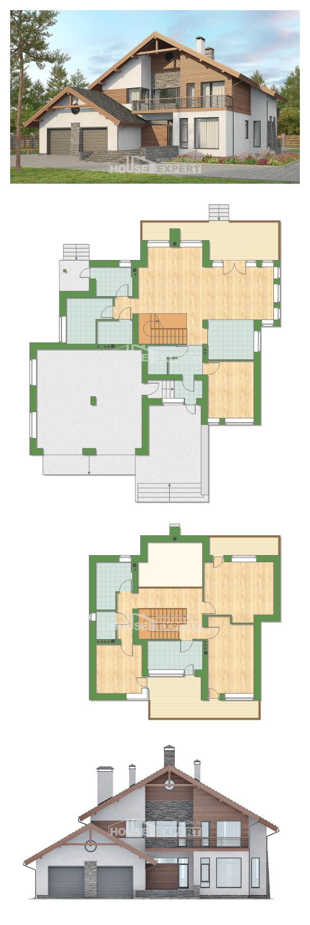 Ev villa projesi 270-003-L | House Expert