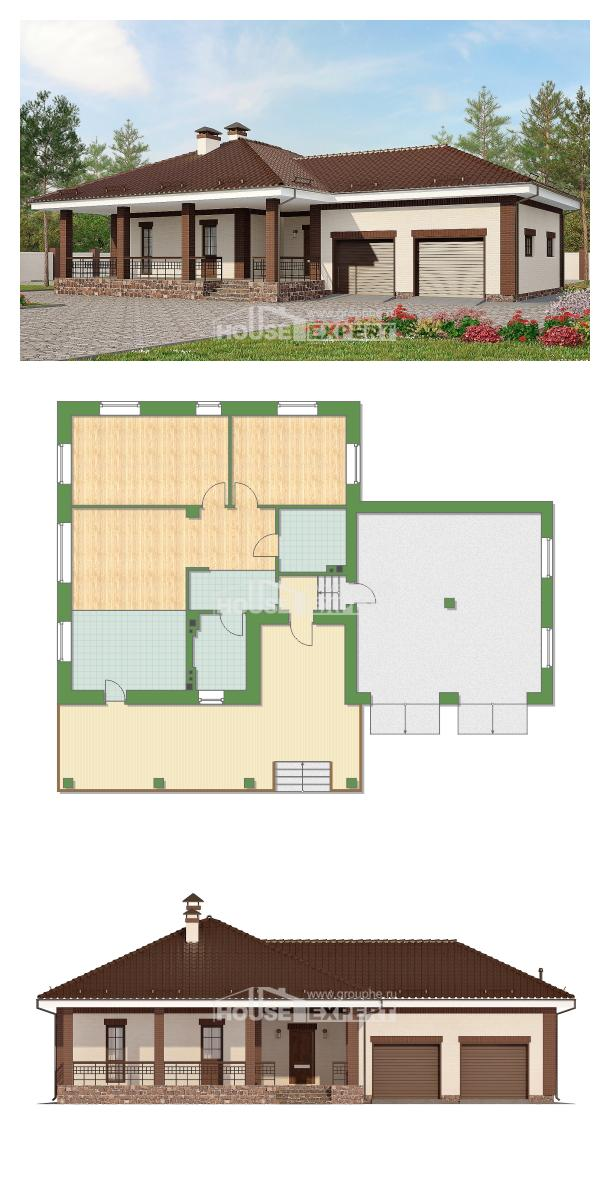 Ev villa projesi 160-015-R | House Expert