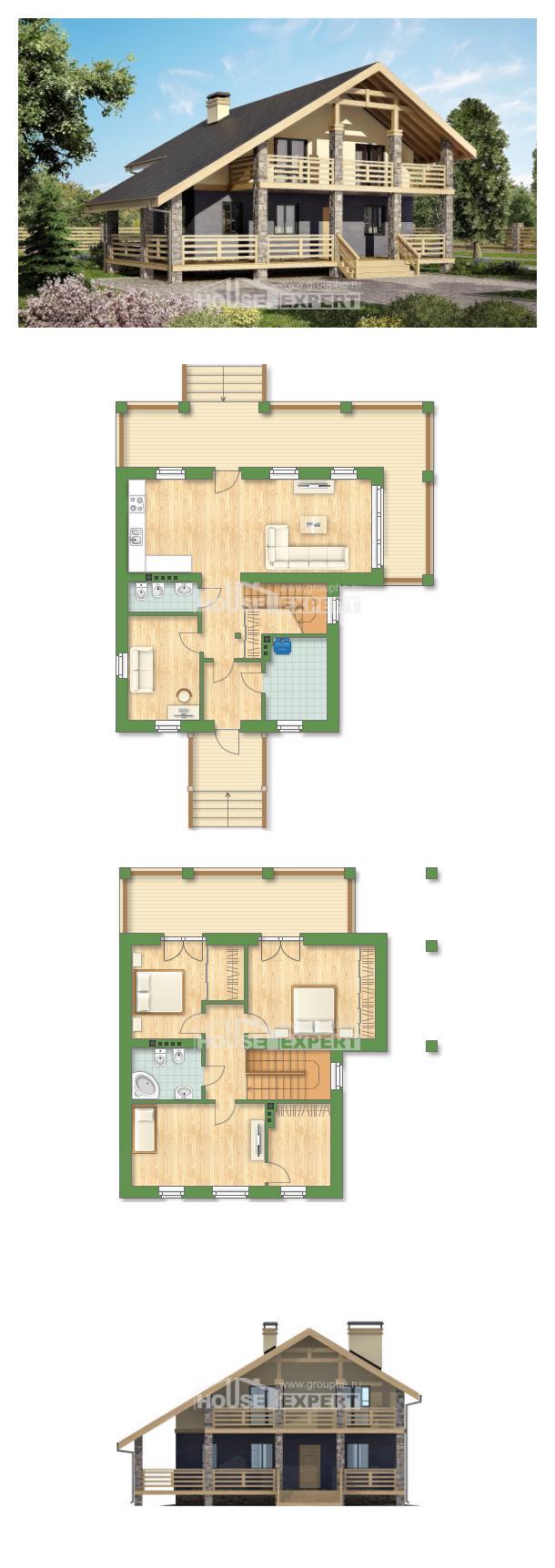 Projekt domu 160-010-R   House Expert