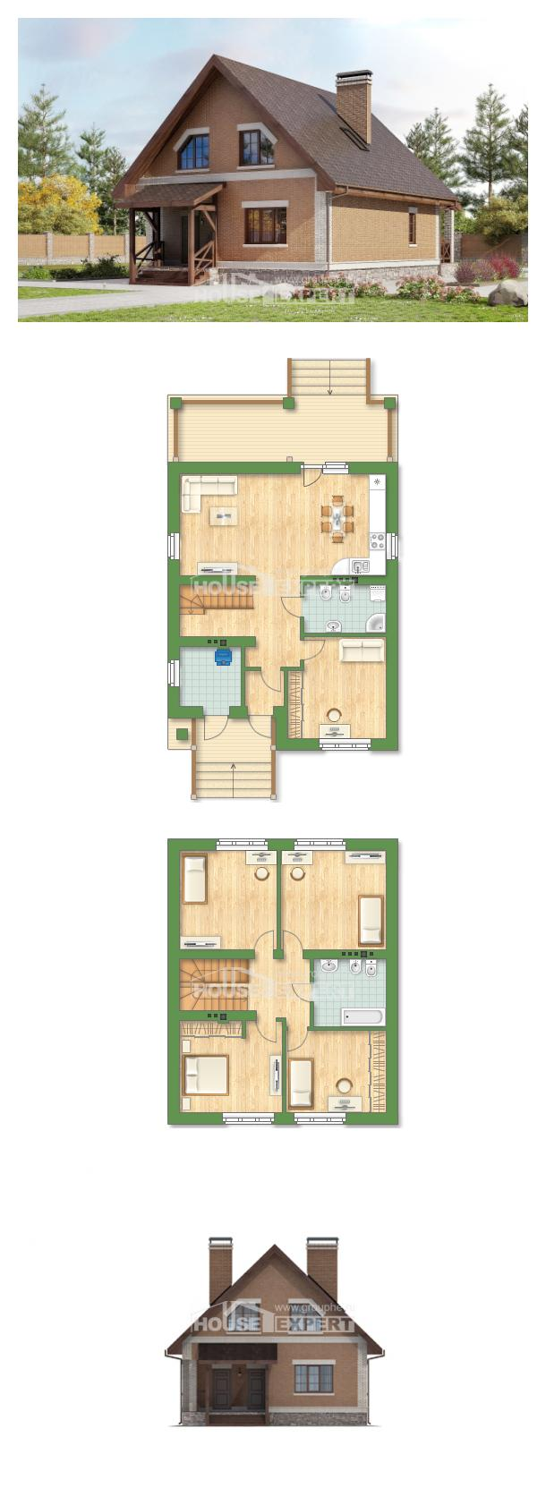 Projekt domu 160-011-L | House Expert