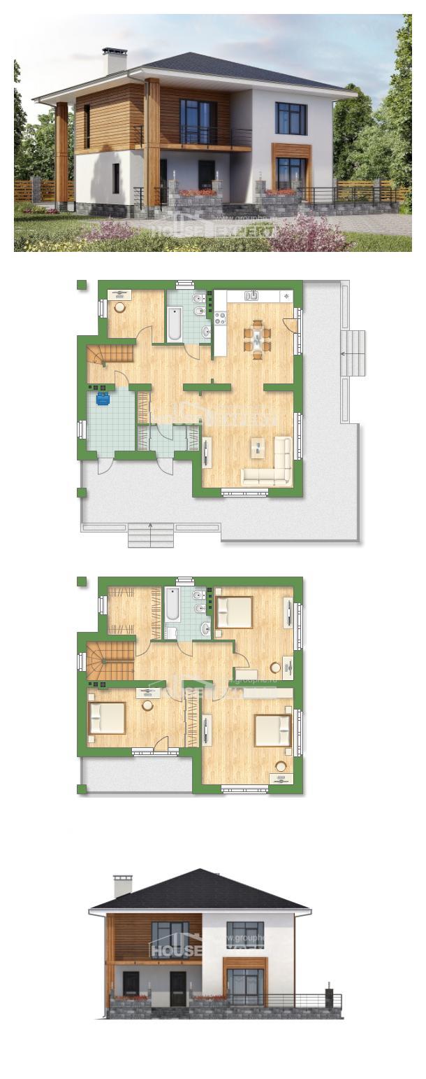 خطة البيت 180-015-R | House Expert