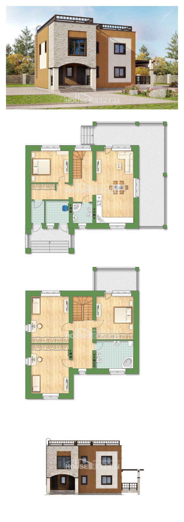 Проект дома 150-010-Л | House Expert