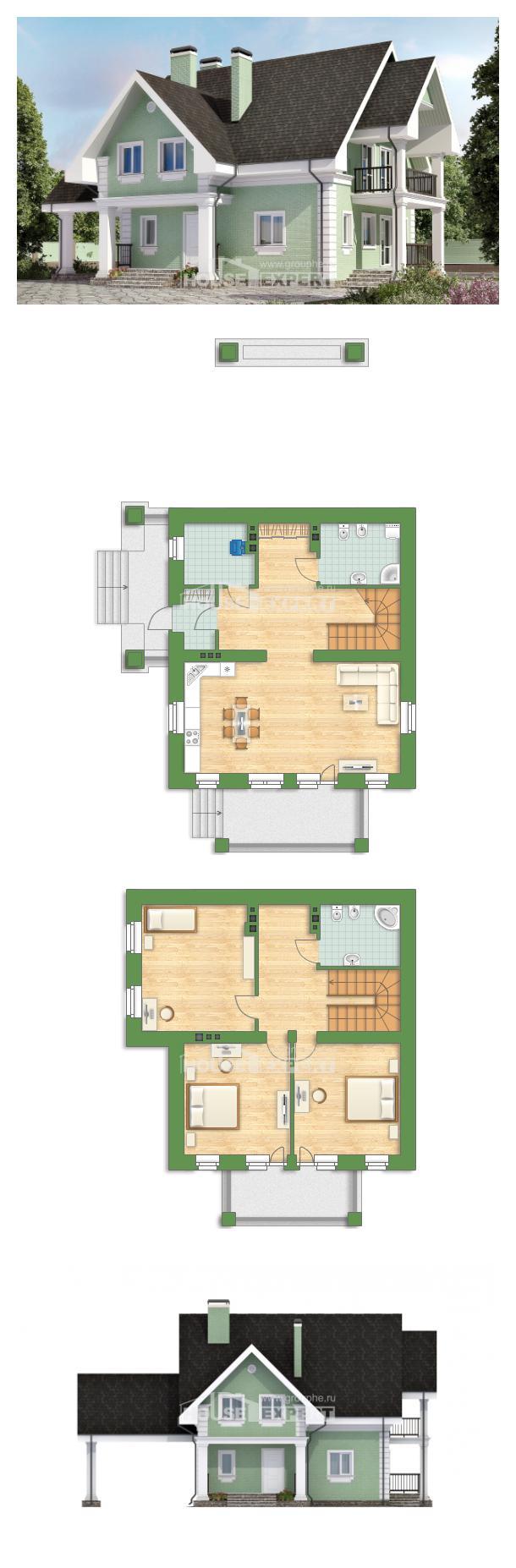 Проект дома 140-003-Л | House Expert