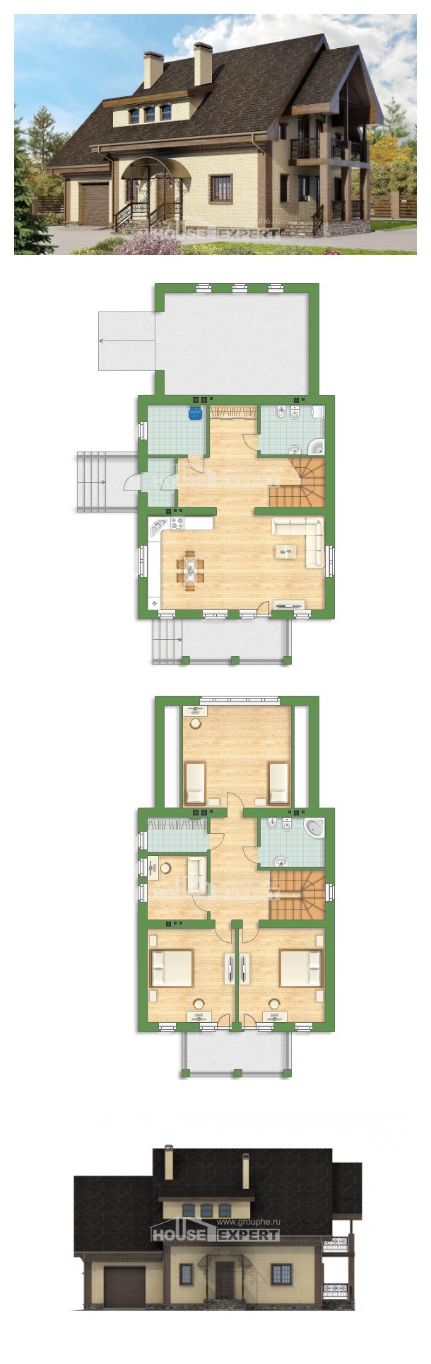 Projekt domu 185-003-L   House Expert