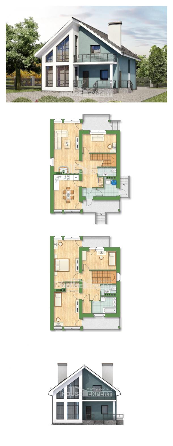 Projekt domu 170-006-R | House Expert