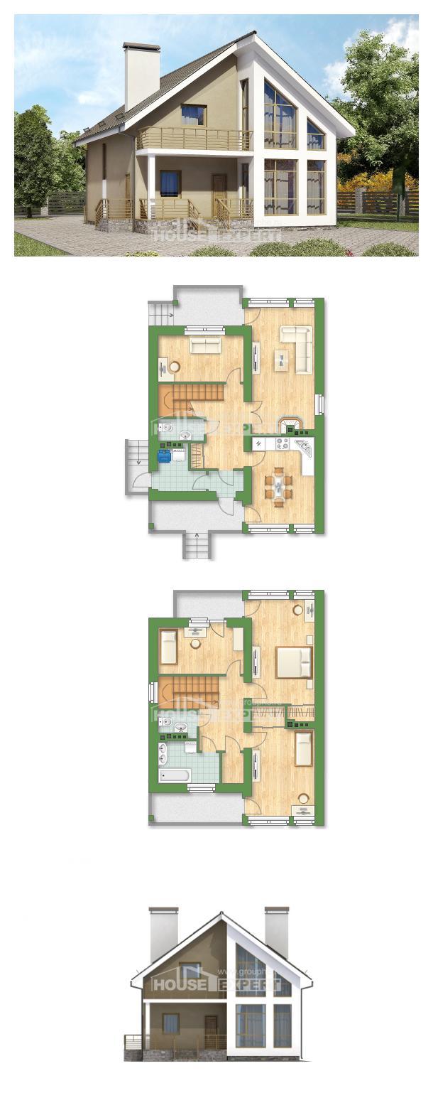 Projekt domu 170-006-L | House Expert