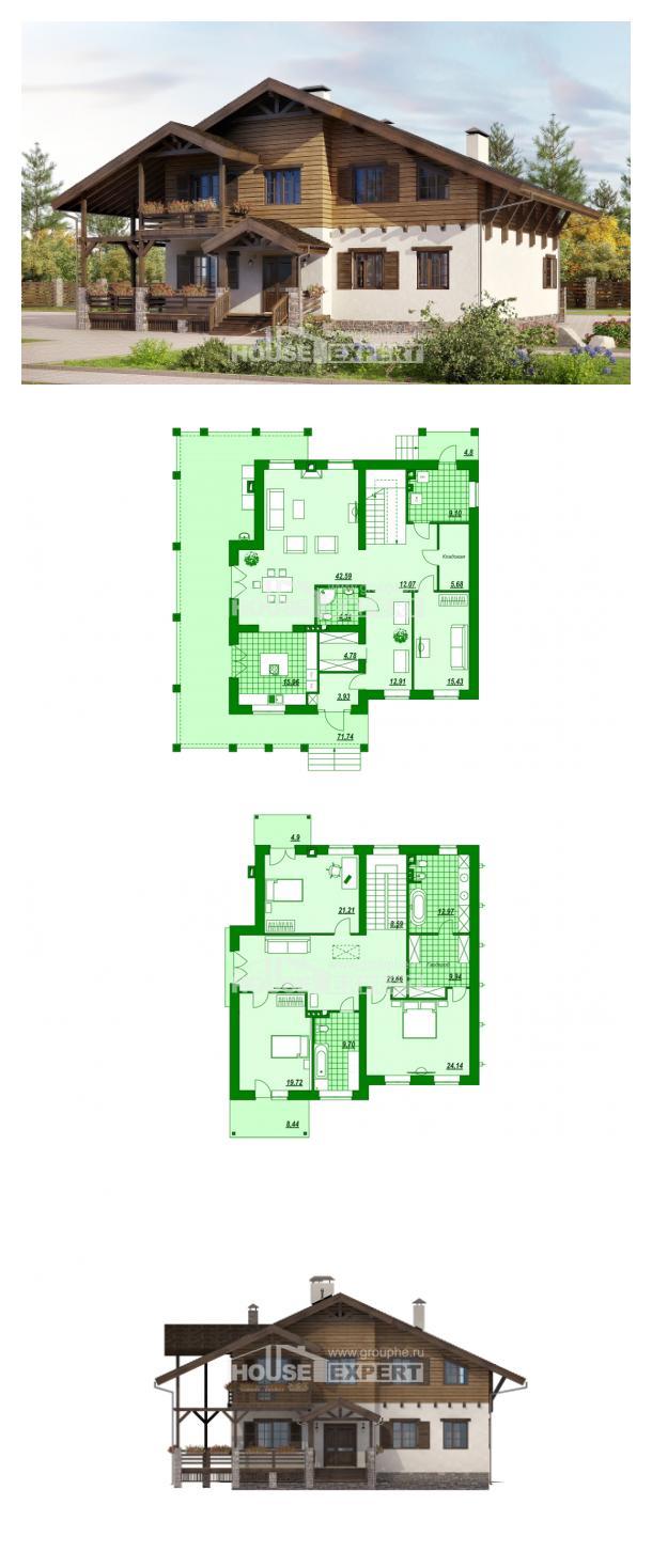 Projekt domu 260-001-R | House Expert