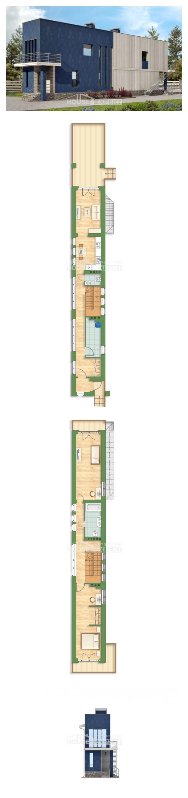 Проект дома 100-003-П | House Expert